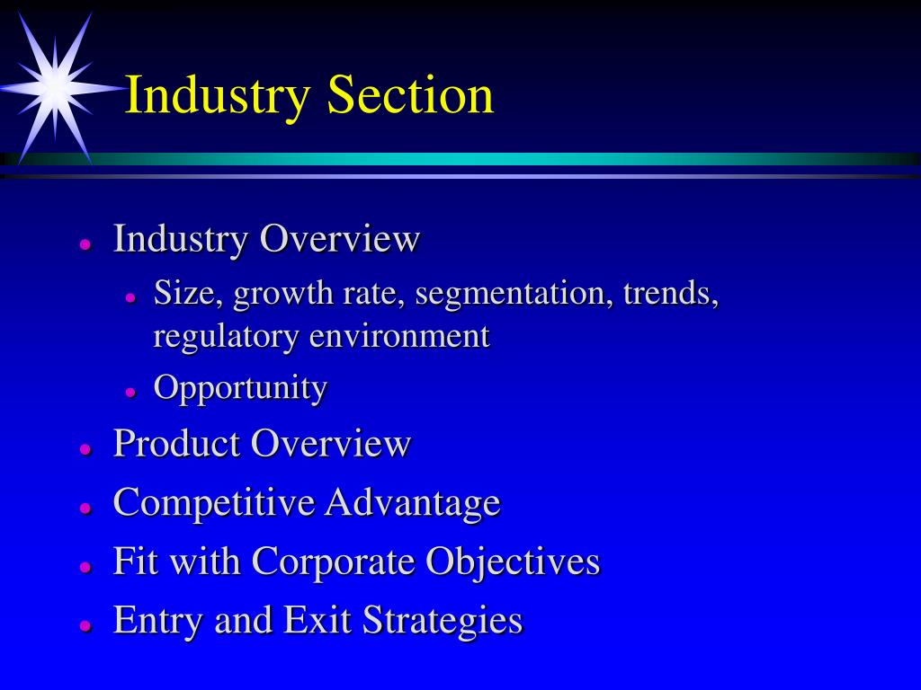 Industry Section