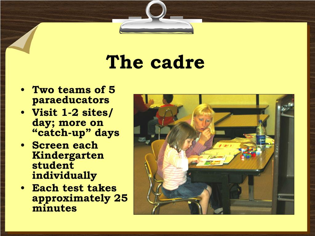 The cadre