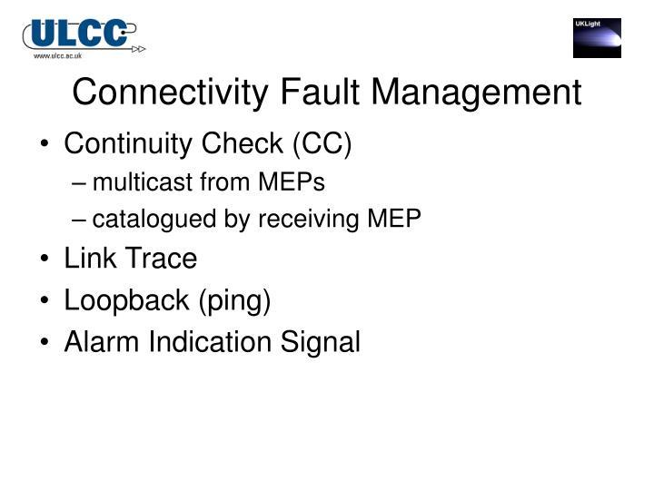 Connectivity Fault Management