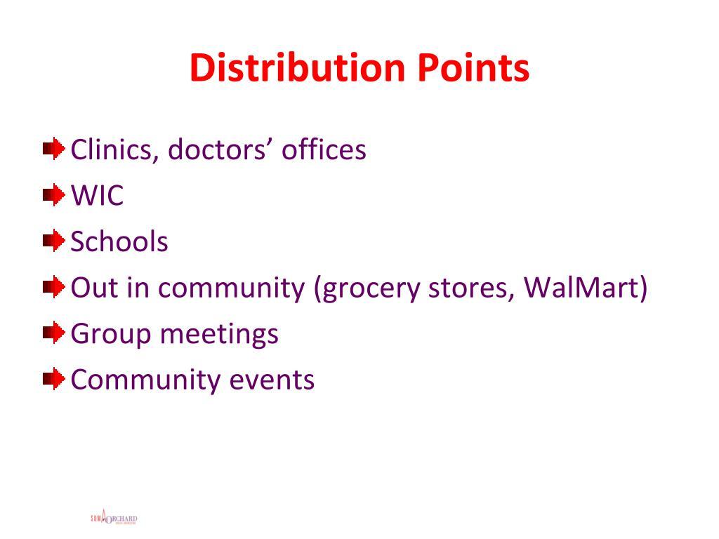 Distribution Points