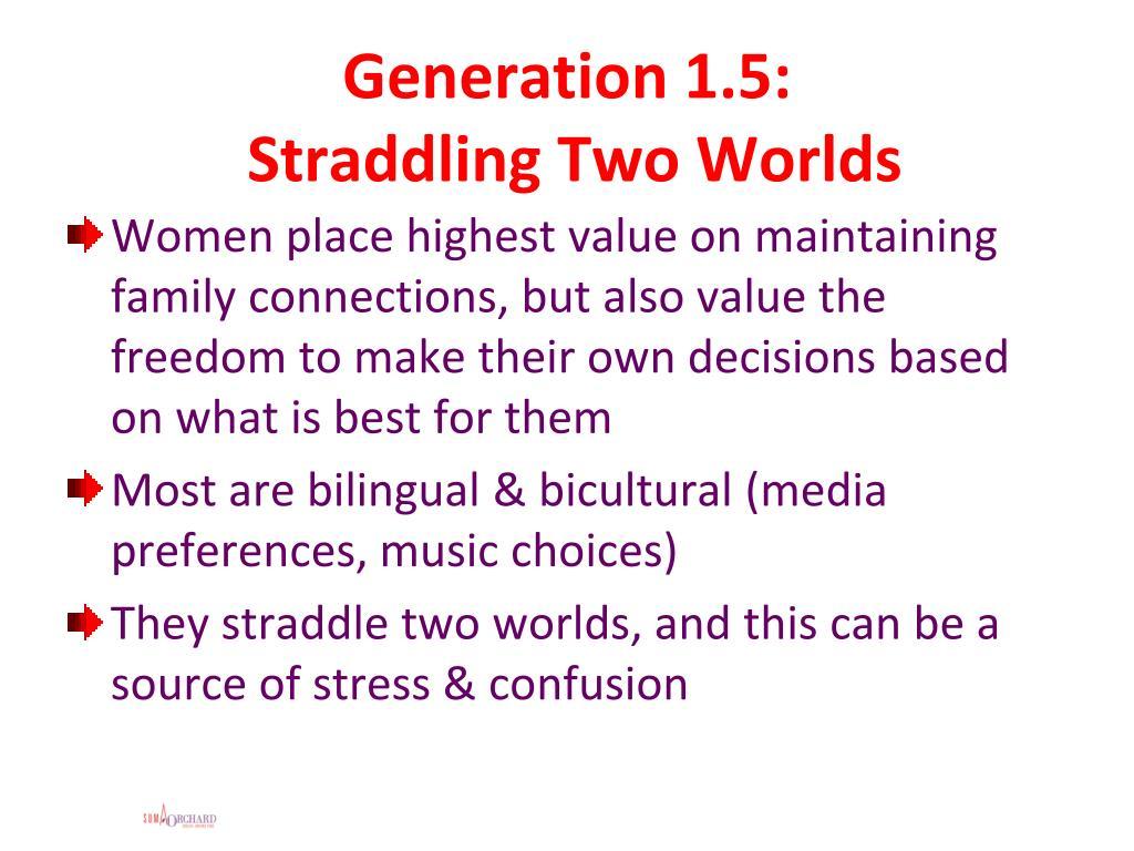 Generation 1.5: