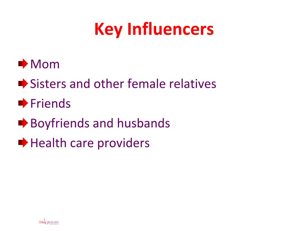 Key Influencers