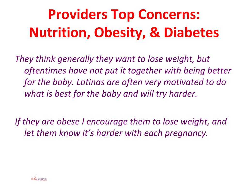 Providers Top Concerns: