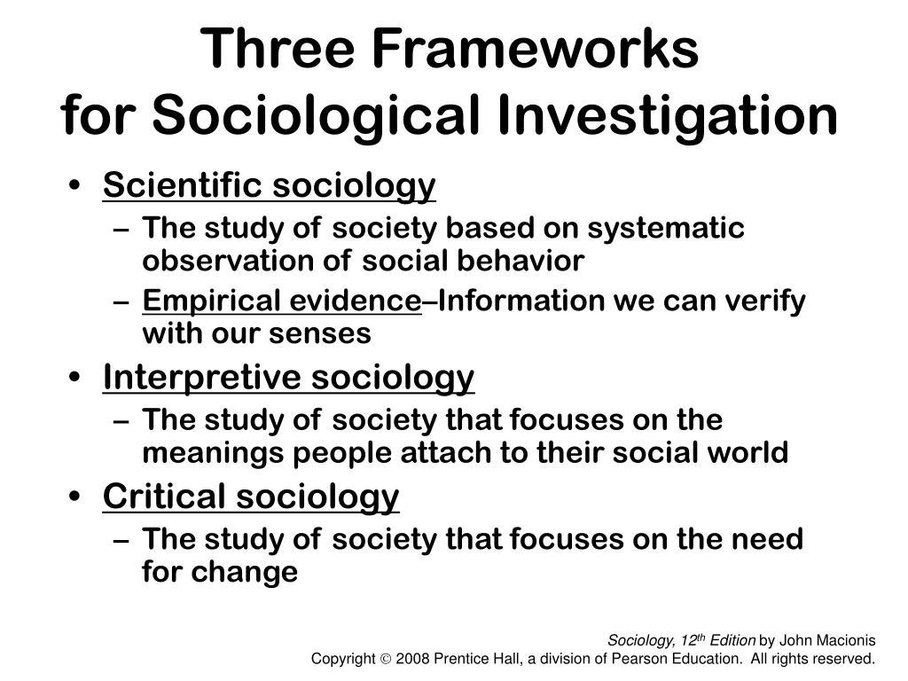 Three Frameworks