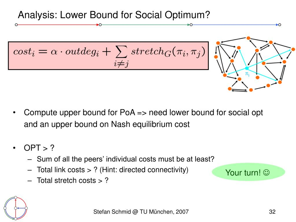 Analysis: Lower Bound for Social Optimum?