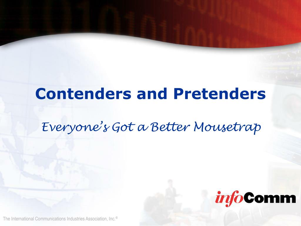 Contenders and Pretenders