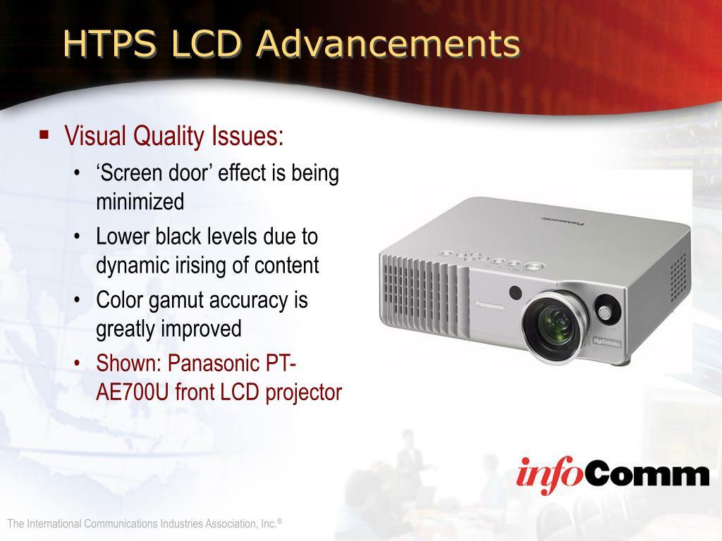 HTPS LCD Advancements