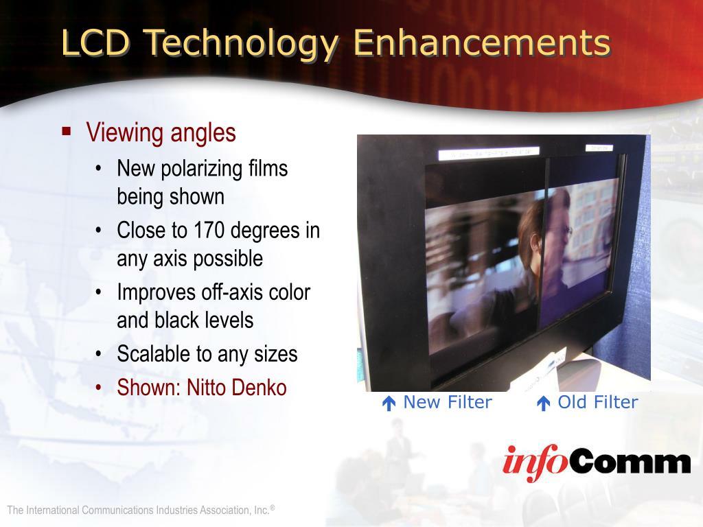 LCD Technology Enhancements