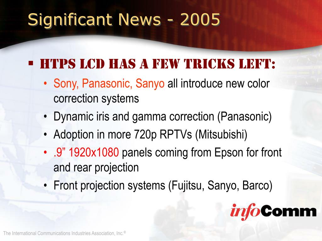 Significant News - 2005