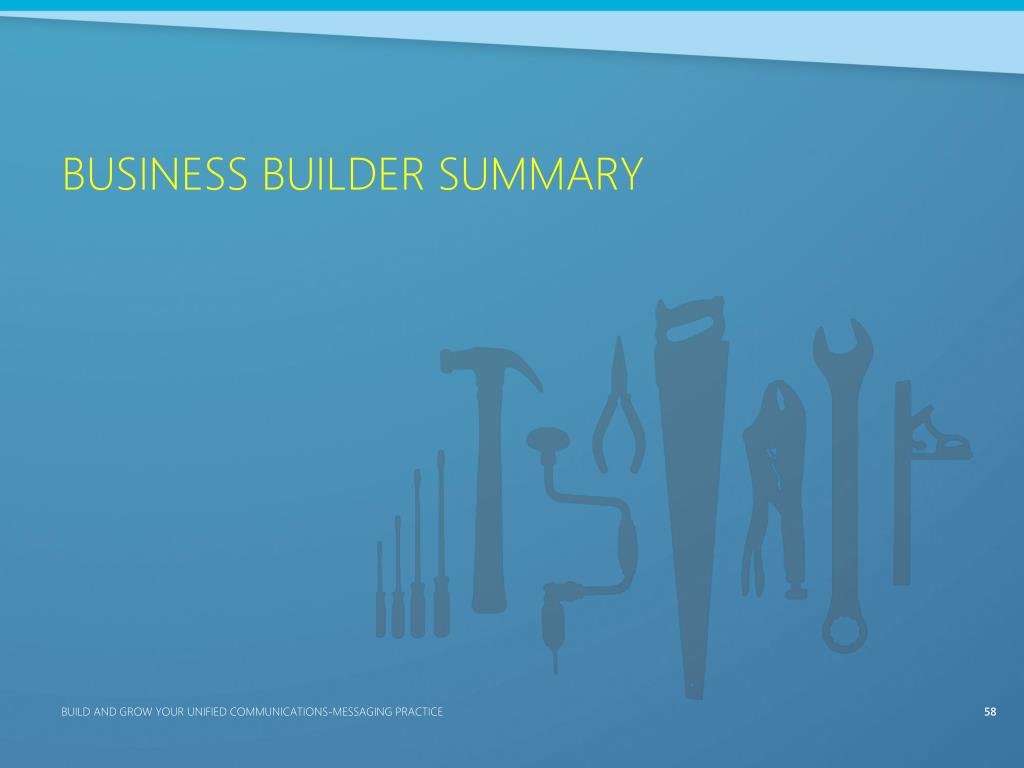 Business Builder Summary