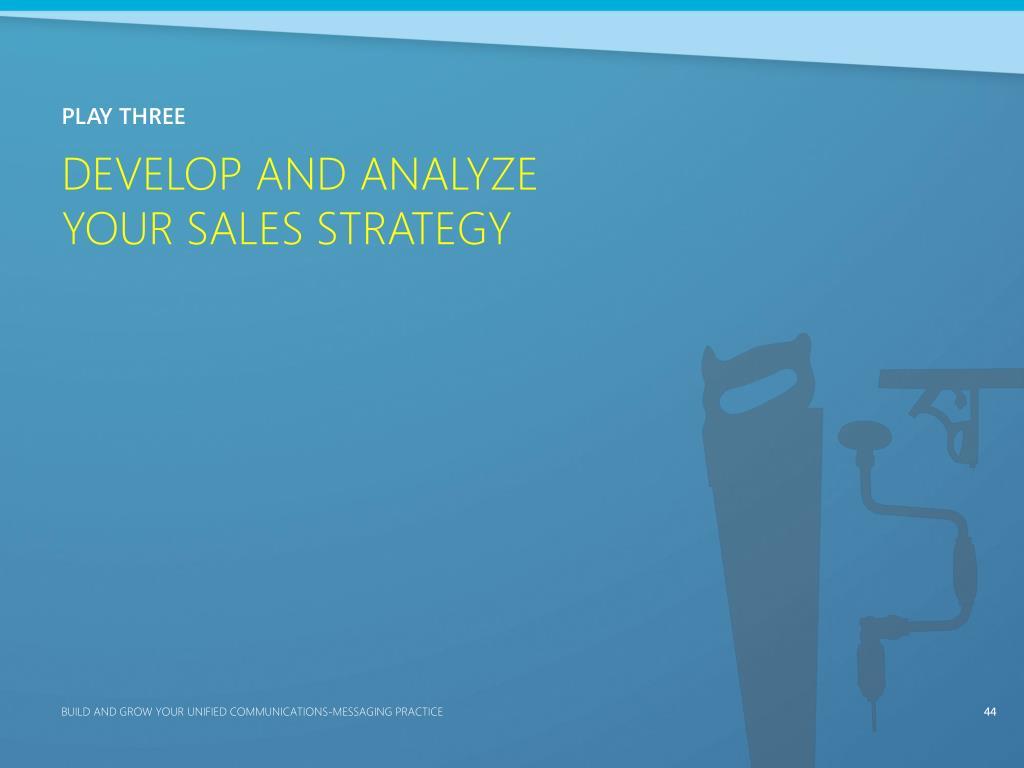 Develop and Analyze