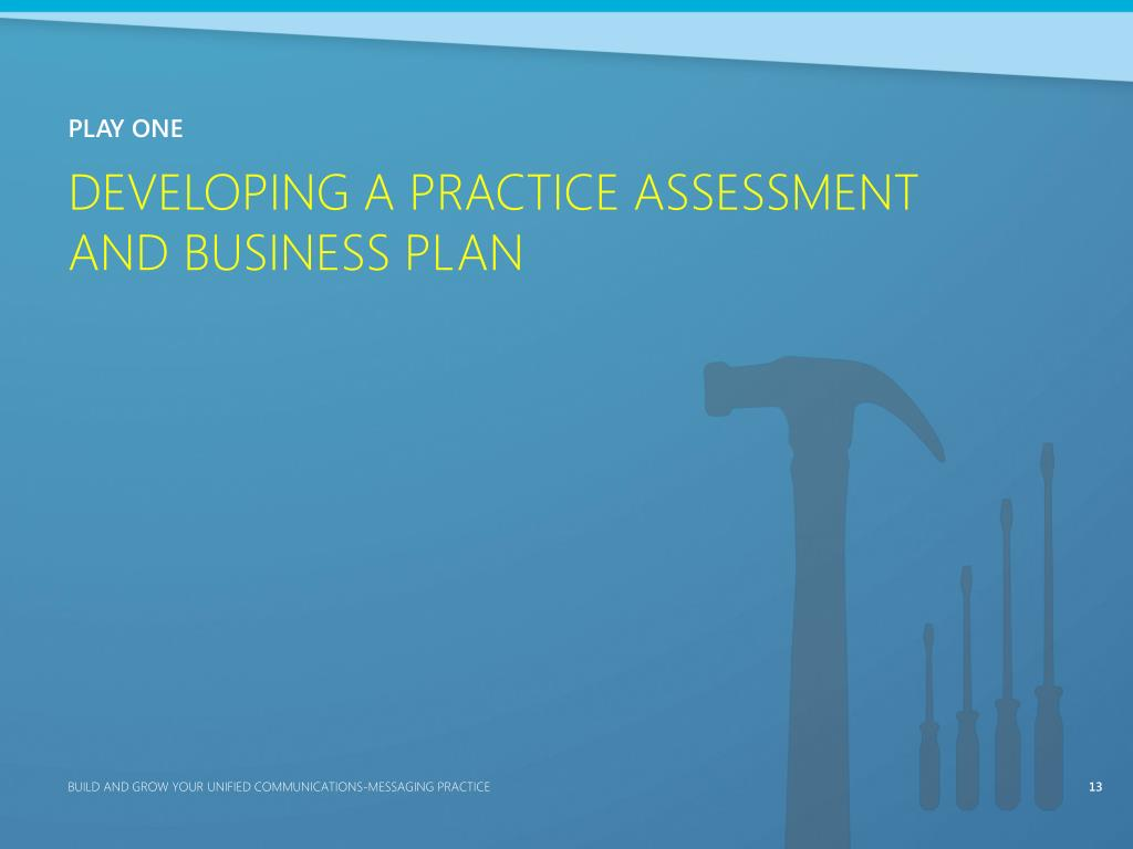 Developing a Practice Assessment
