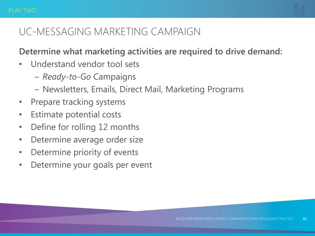 UC-Messaging Marketing Campaign