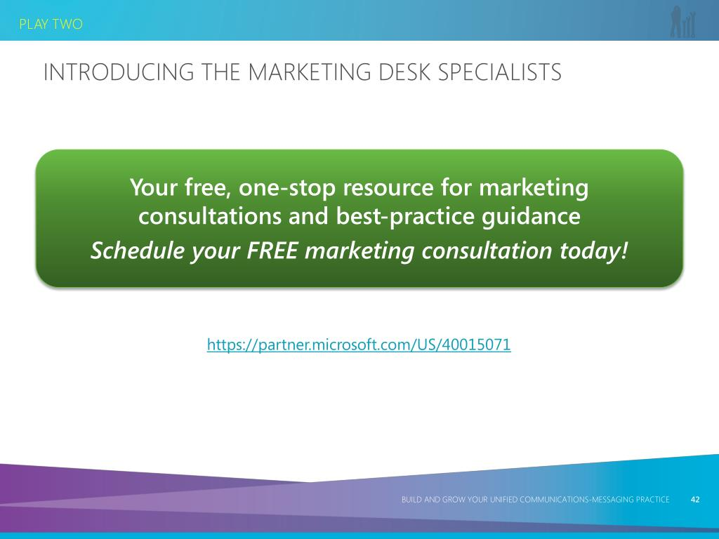 Introducing the Marketing Desk Specialists