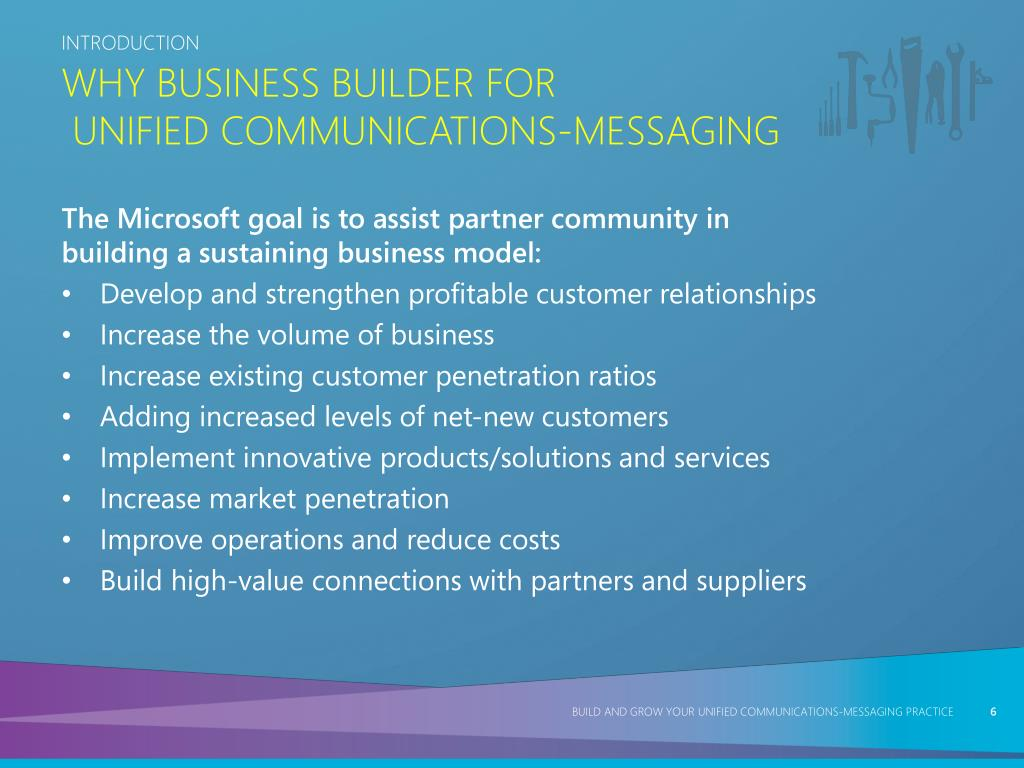 Why Business Builder for