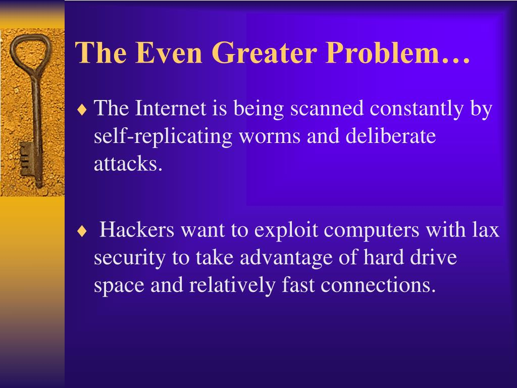 The Even Greater Problem…