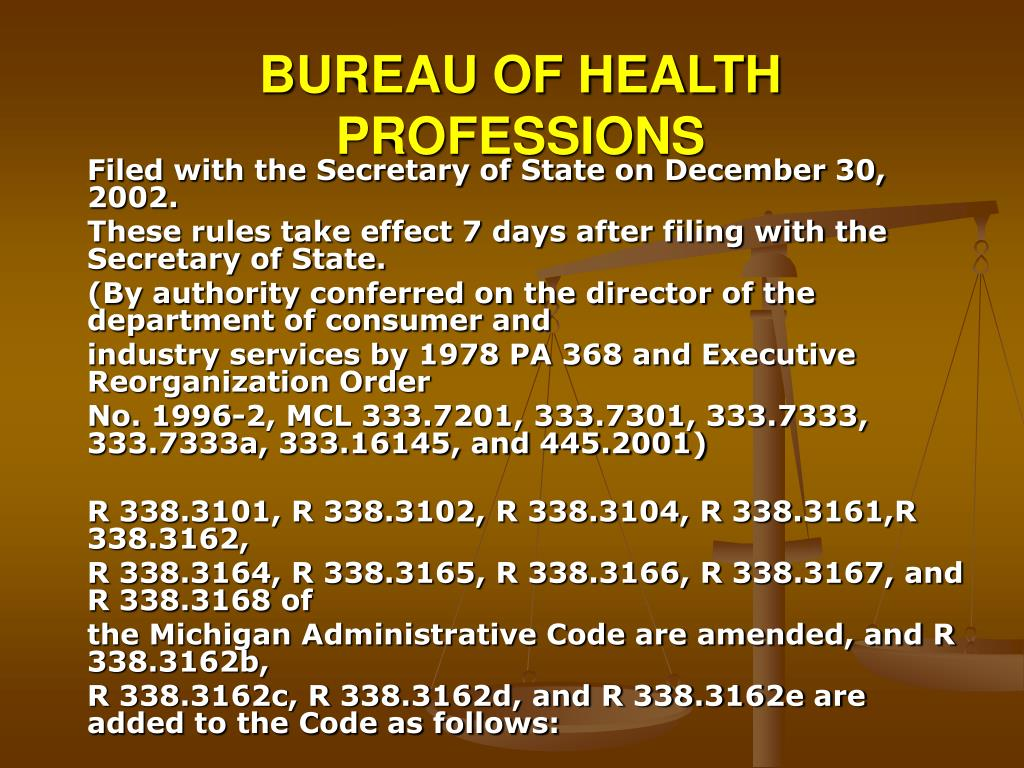BUREAU OF HEALTH PROFESSIONS