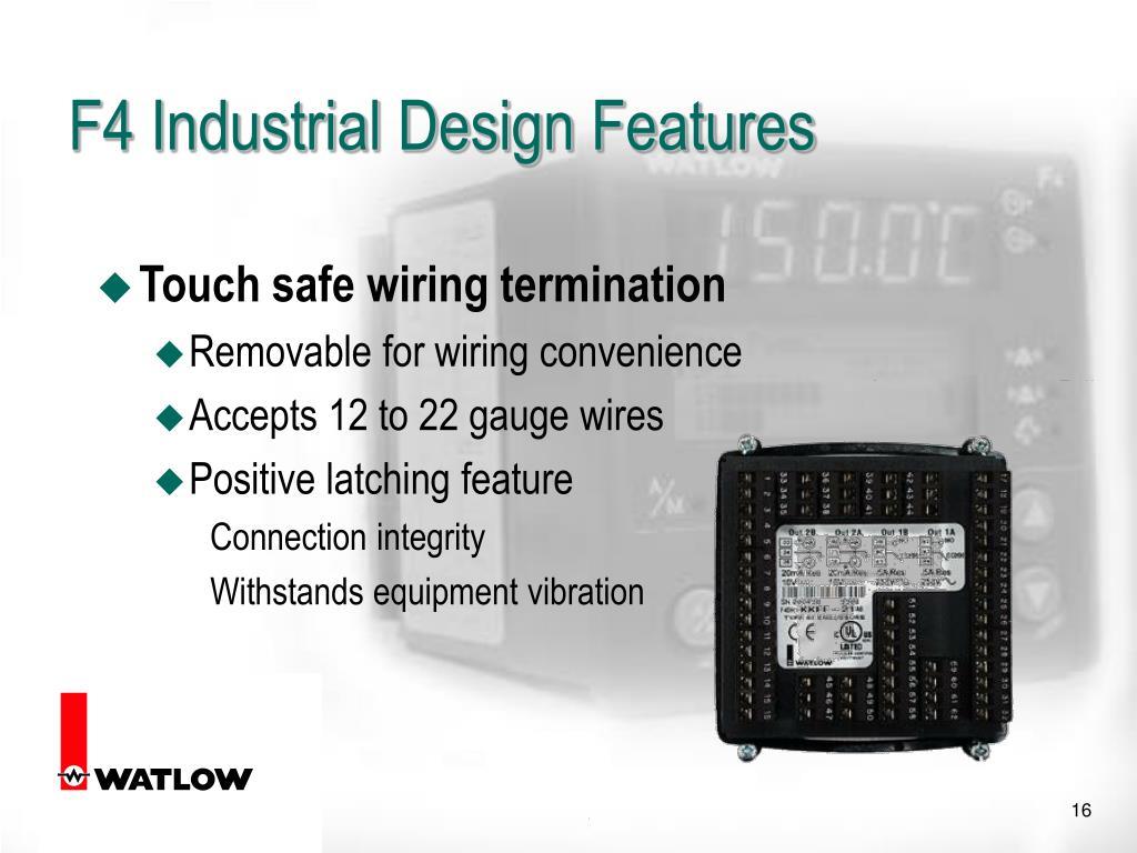 F4 Industrial Design Features
