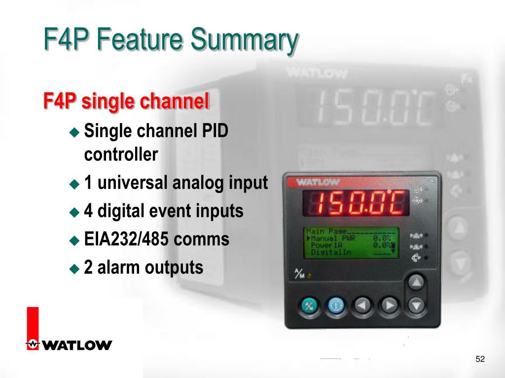 F4P single channel