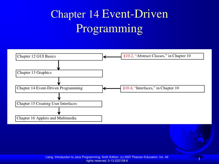 Chapter 14 event driven programming