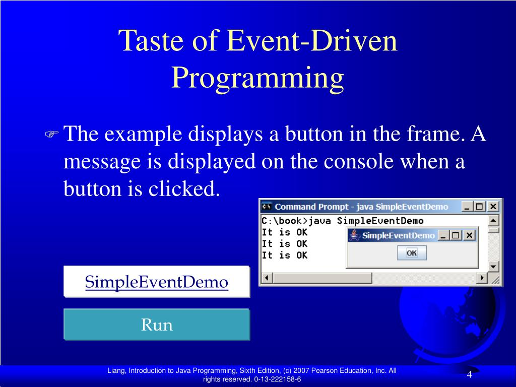 Taste of Event-Driven Programming