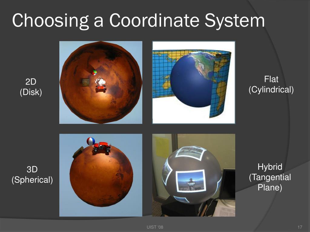 Choosing a Coordinate System
