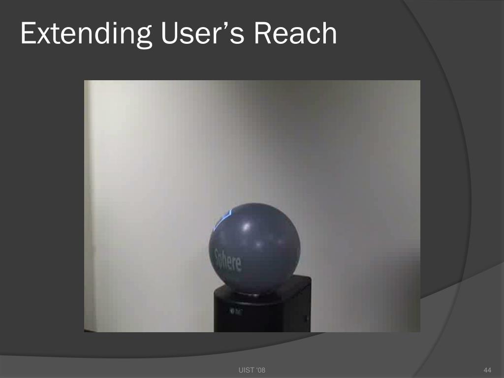 Extending User's Reach