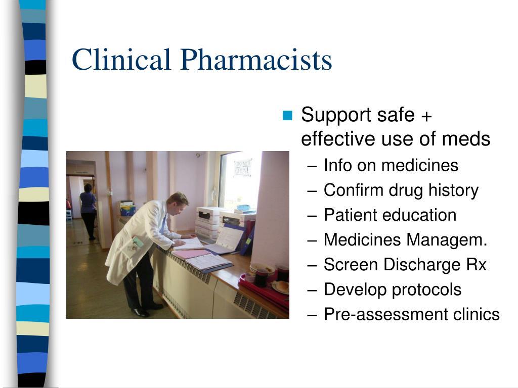 Clinical Pharmacists