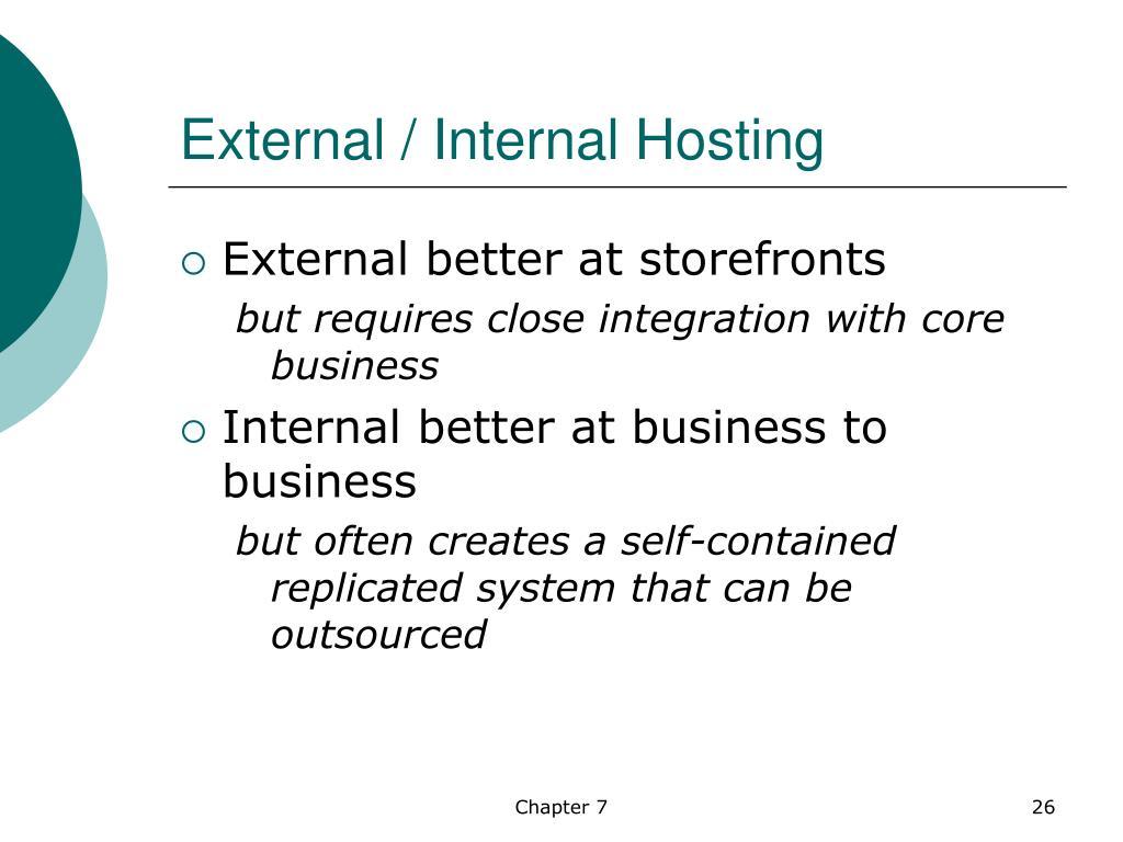 External / Internal Hosting