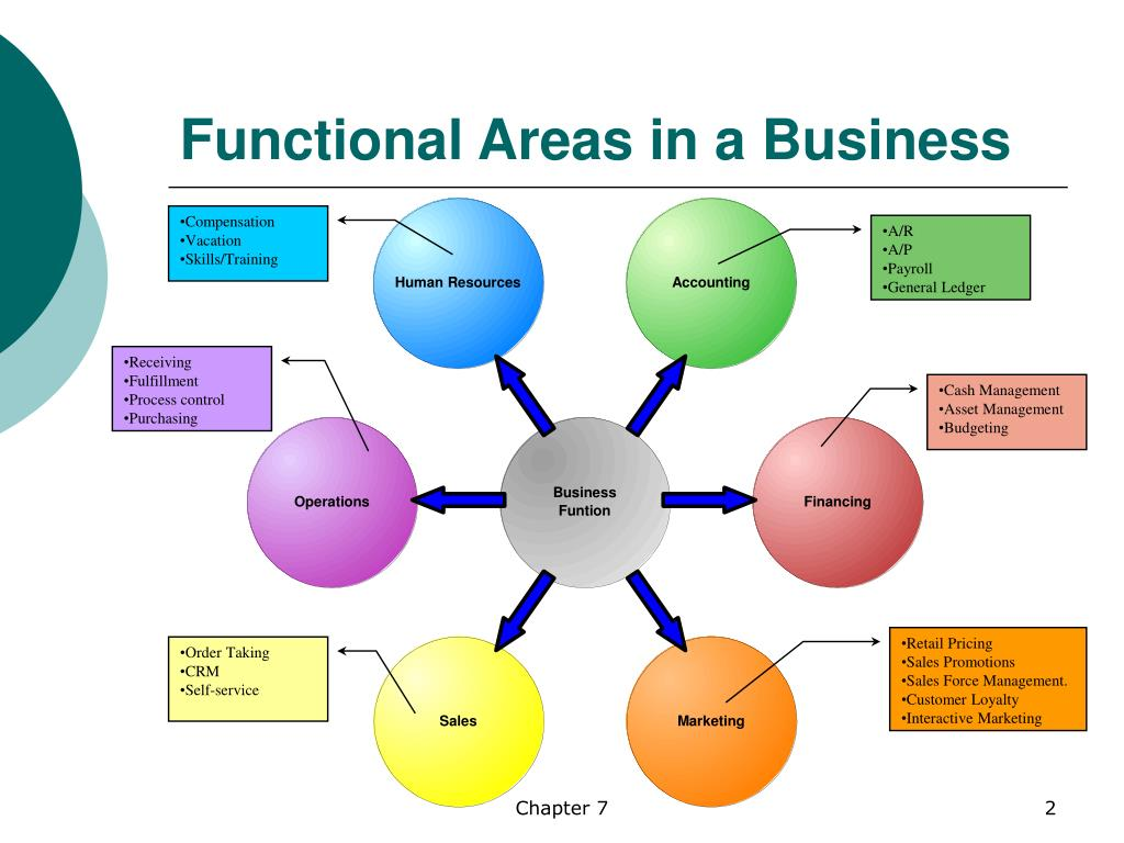 Functional Areas in a Business