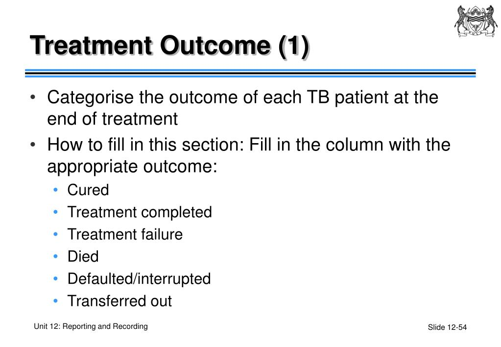 Treatment Outcome (1)