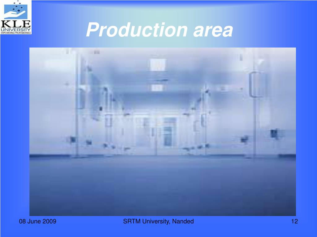 Production area