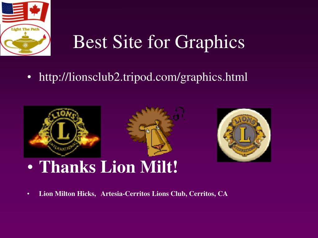 Best Site for Graphics