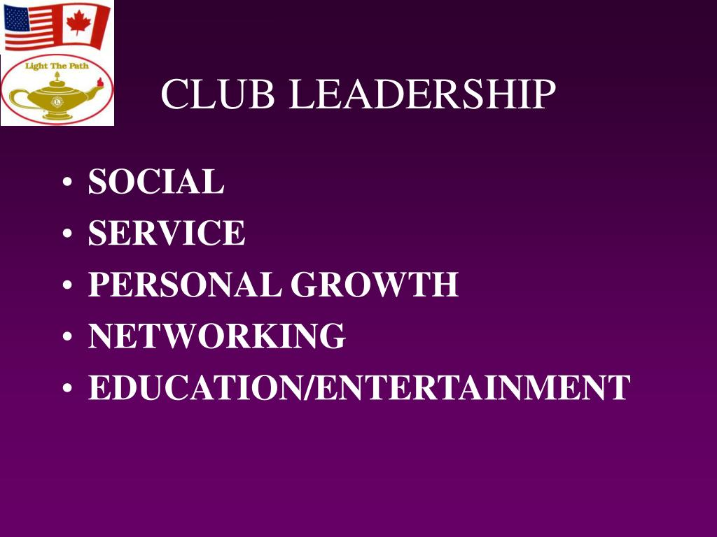 CLUB LEADERSHIP