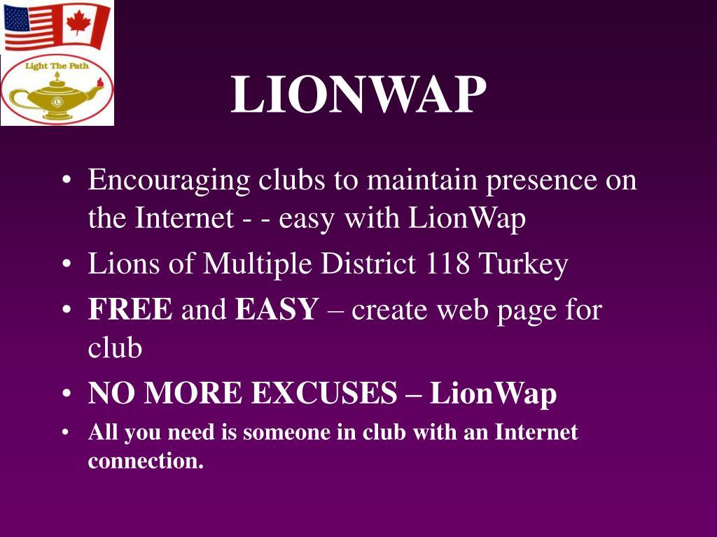 LIONWAP