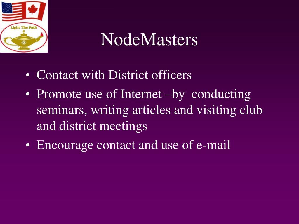 NodeMasters