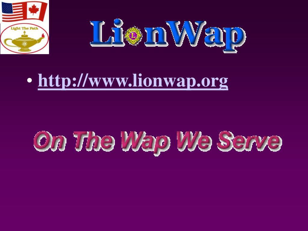 http://www.lionwap.org