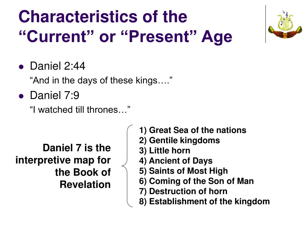 "Characteristics of the ""Current"" or ""Present"" Age"