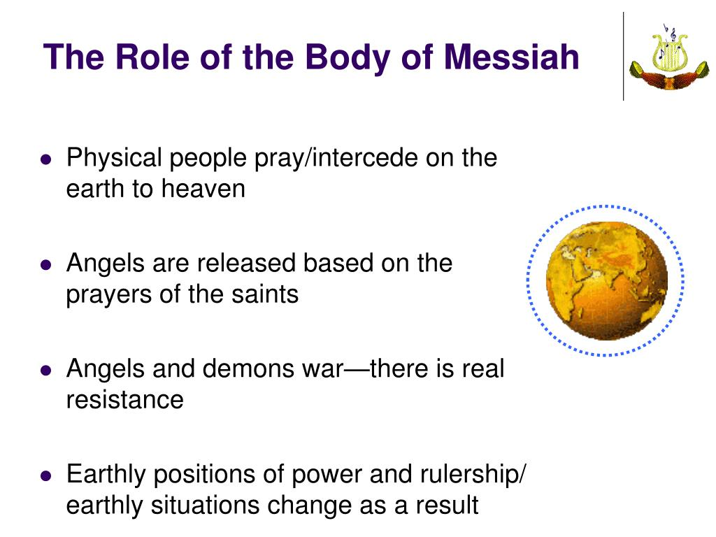 The Role of the Body of Messiah