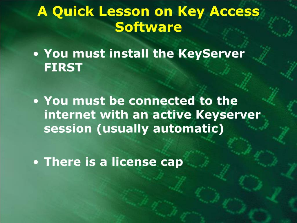 A Quick Lesson on Key Access Software
