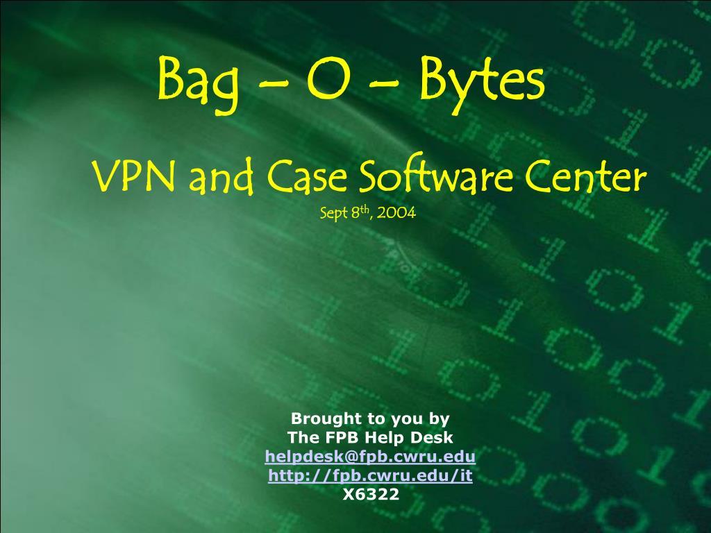 Bag – O – Bytes