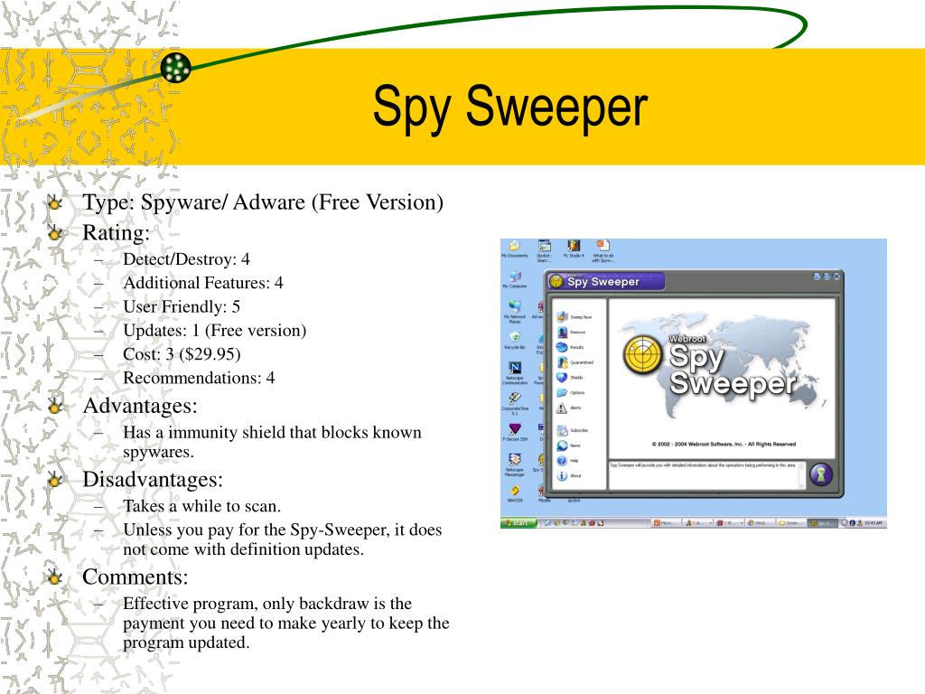 Spy Sweeper