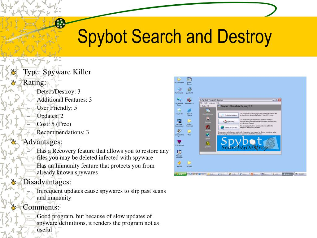 Spybot Search and Destroy