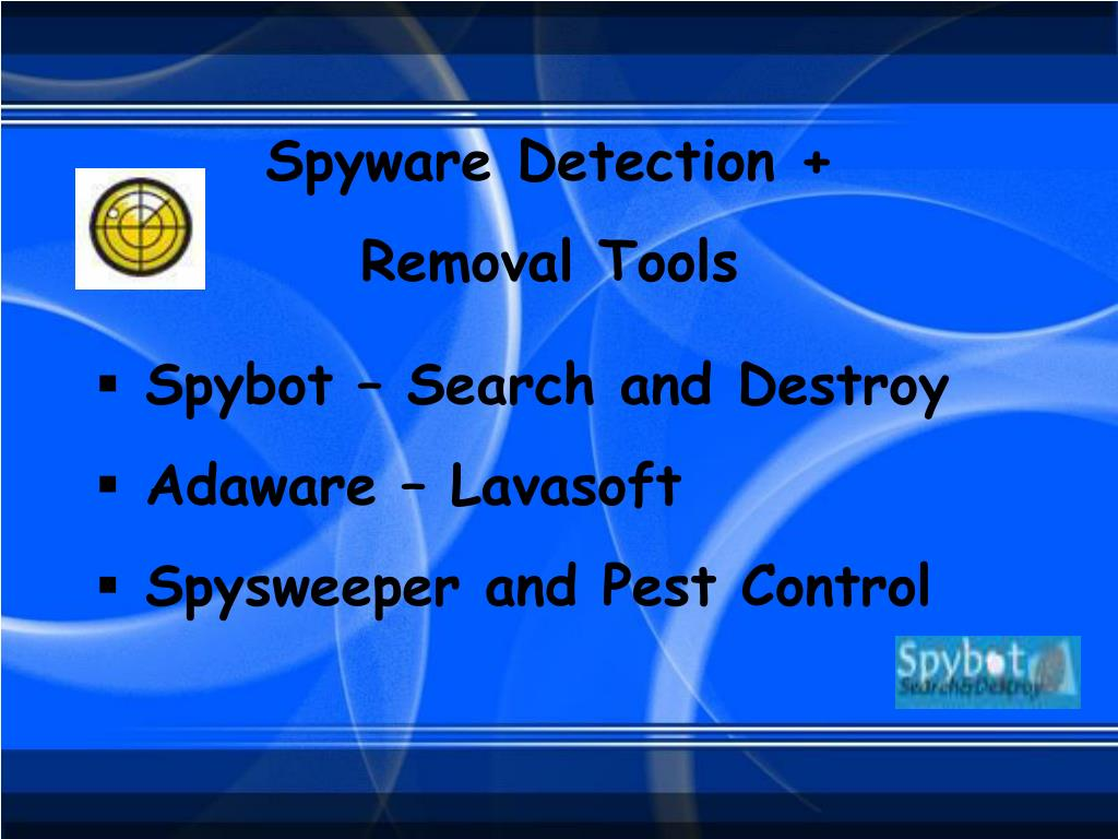 Spyware Detection +