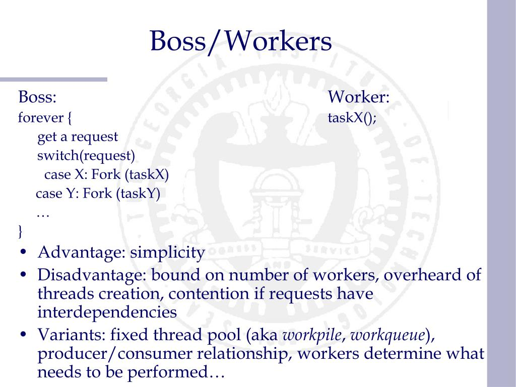 Boss/Workers