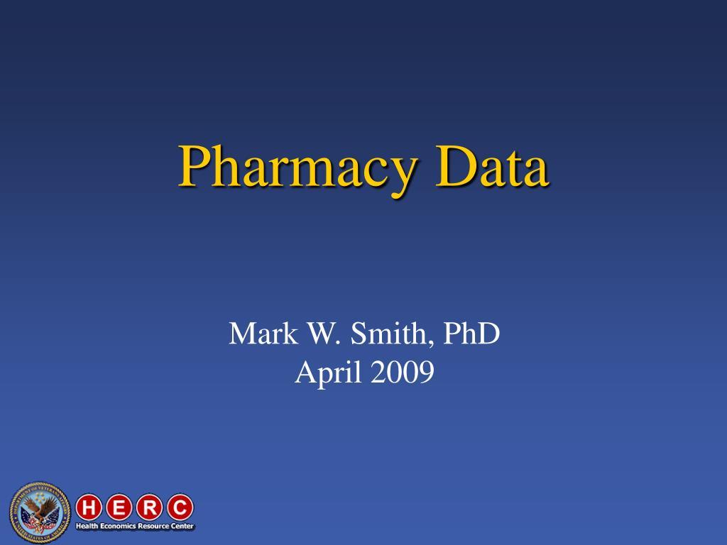 Pharmacy Data