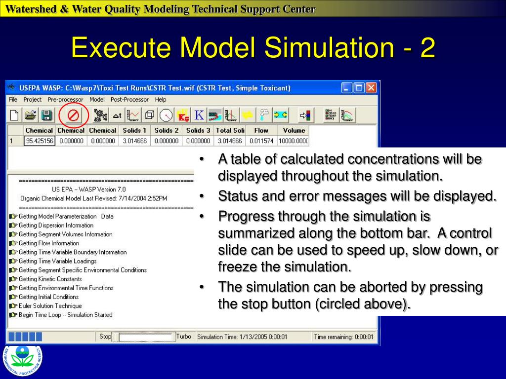 Execute Model Simulation - 2