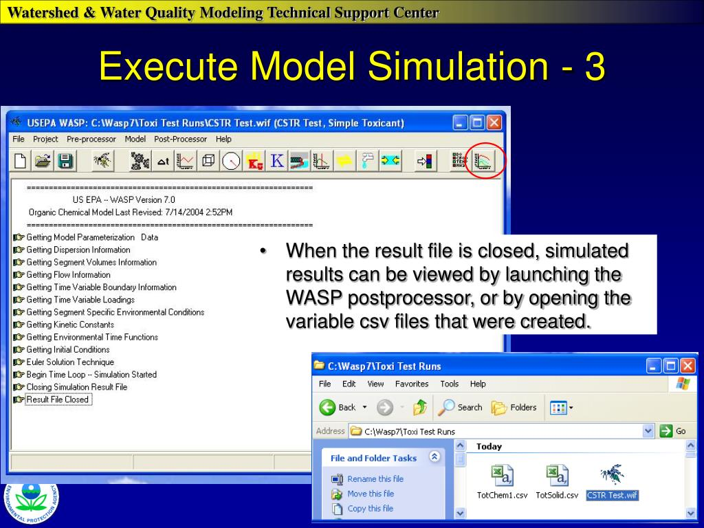 Execute Model Simulation - 3