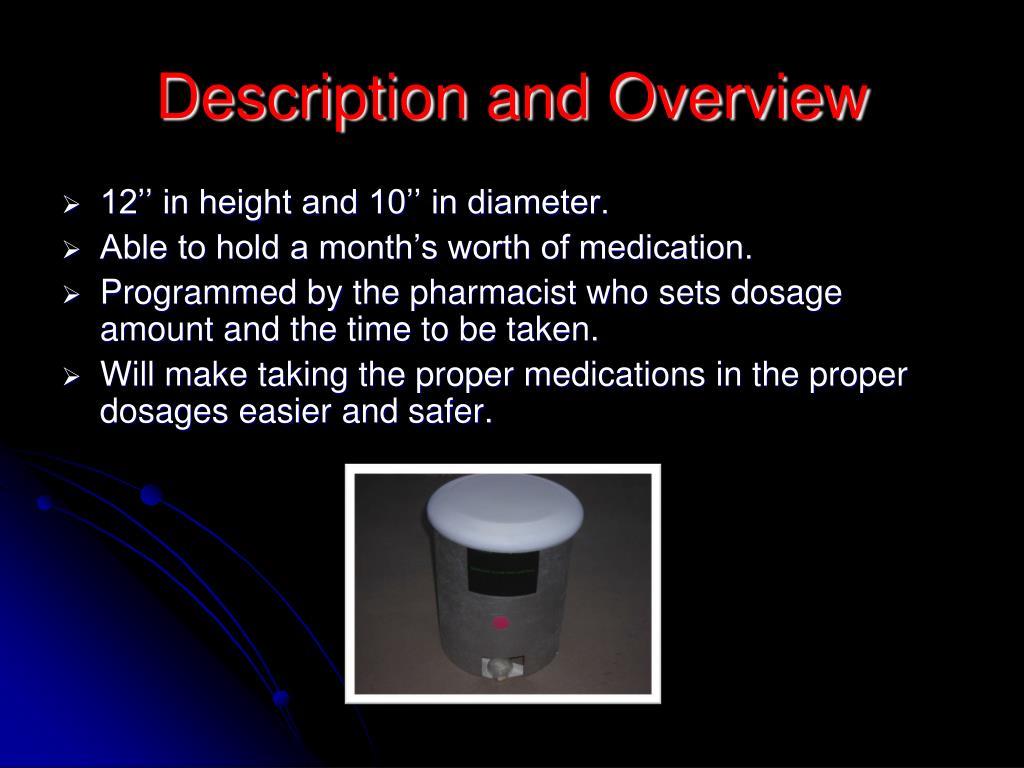 Description and Overview