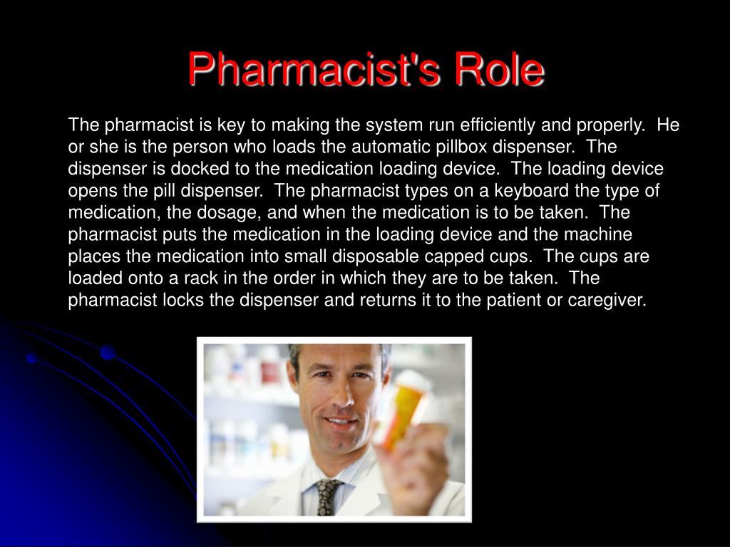 Pharmacist's Role